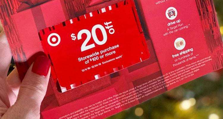$20 off $100 Target Coupon Code 2020