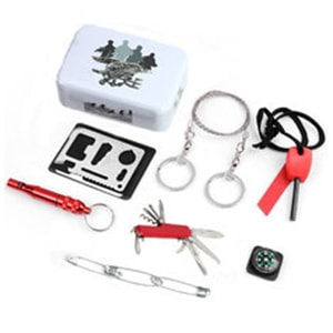 7-in-1 Outdoor Emergency Survival Kit