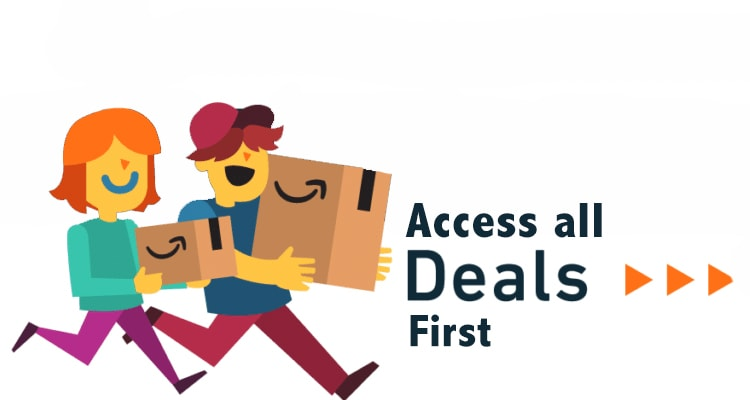access all deals first