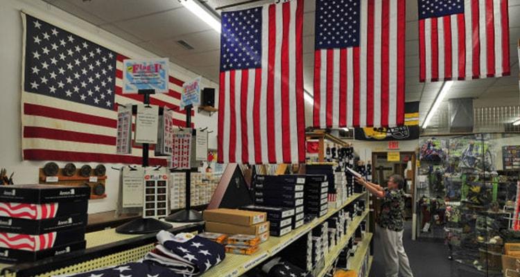 American flag shop