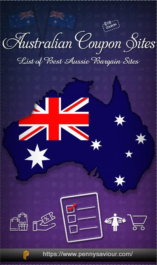 Australian Coupon Sites Best Aussie Bargain Sites Pinterest
