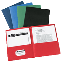 Avery Two-Pocket Folders, 40-Sheet Capacity, 25 Assorted Folders