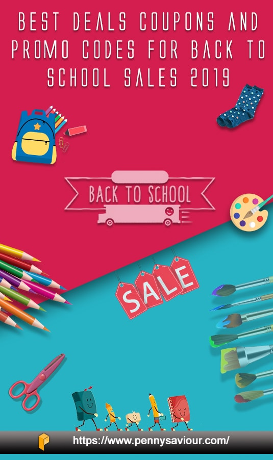 Back To School Sales Deals and Coupons Pinterest