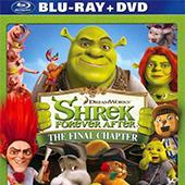 Shrek Forever After/Donkey`s christmas shrektacular discs blu-ray-dvd