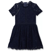 Bardot Junior - Girls` Lace Fit-and-Flare Dress