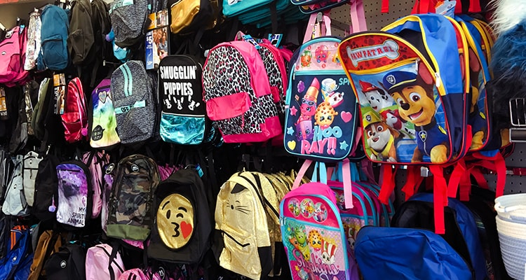 kids bags and accessories