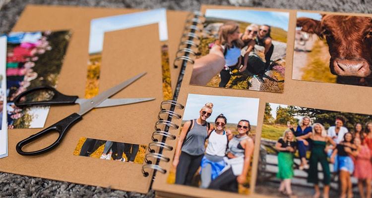 create a scrapbook