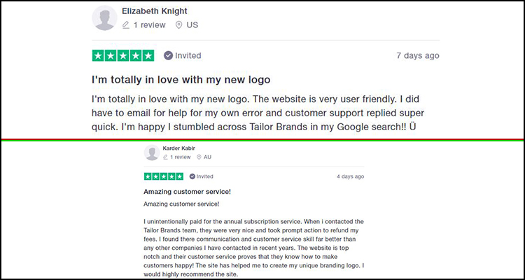 tailor brands customer support