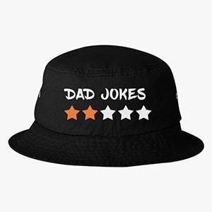Dad`s Jokes Rating Bucket Hat