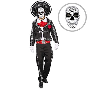 Spooktacular Creations Day of the Dead Mariachi Senior