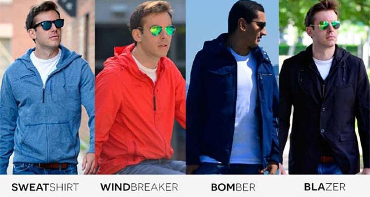 different varieties of baubax jacket