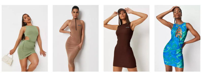 Missguided dress review