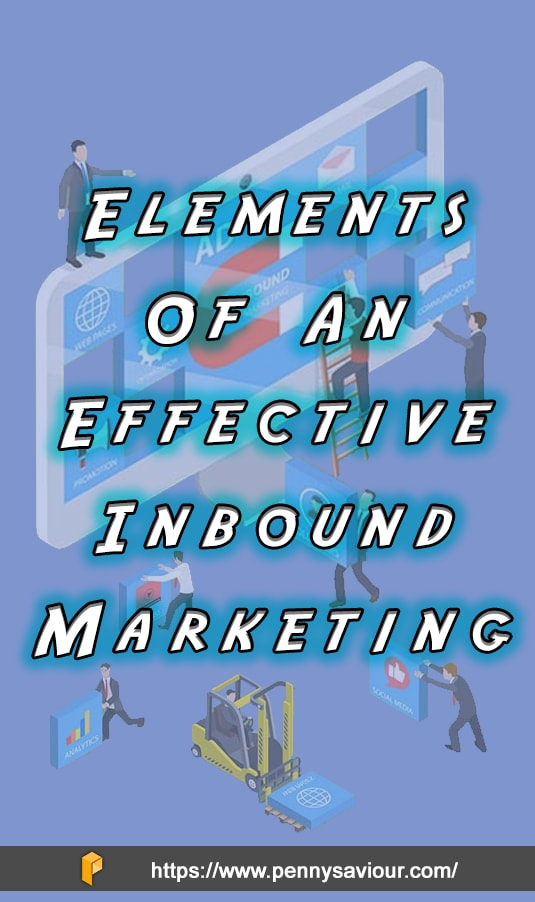 elements of inbound marketing