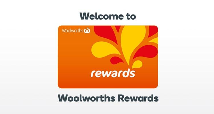 woolworths reward program