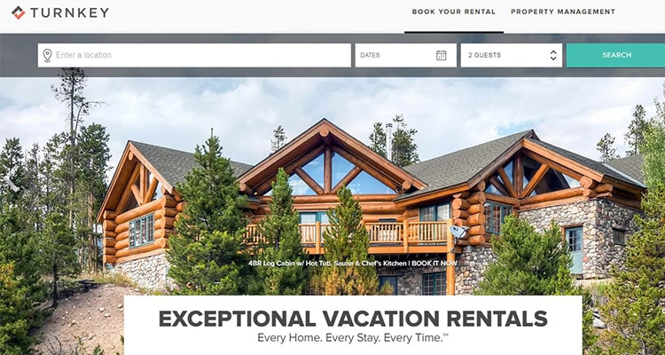 exceptional vacation rentals offerings