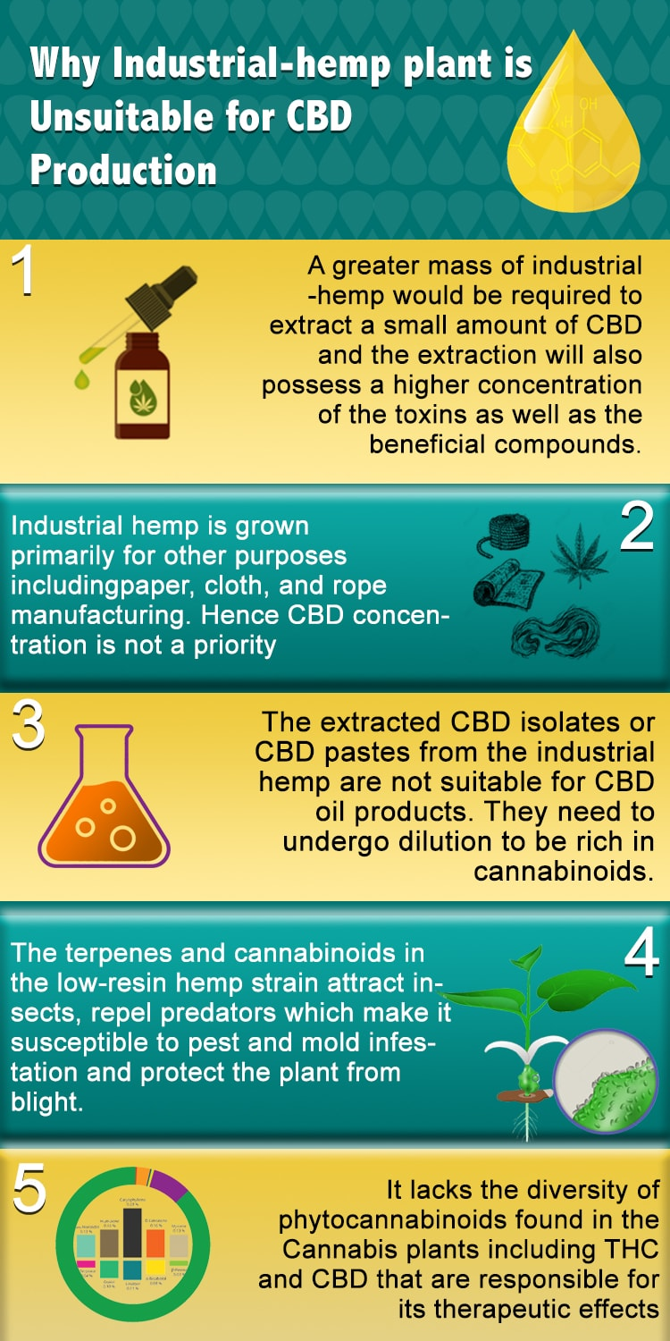 Industrial Hemp vs Organic