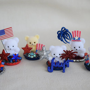Mini Figurines for Fourth of July