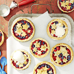 Mini Stars Berry Pie