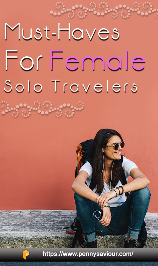 must-haves for female travelers