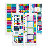 notebook sticker sheets
