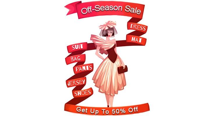 buy during off-season sale