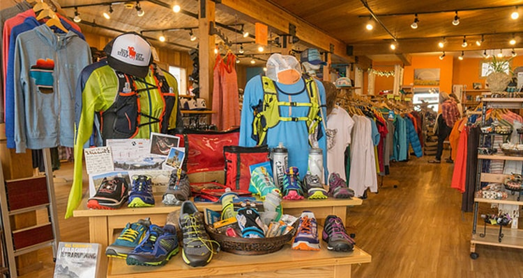 outdoor clothing store