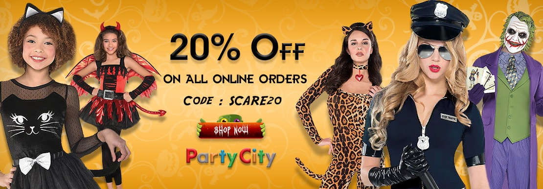 Party City Halloween Coupons On PennySaviour