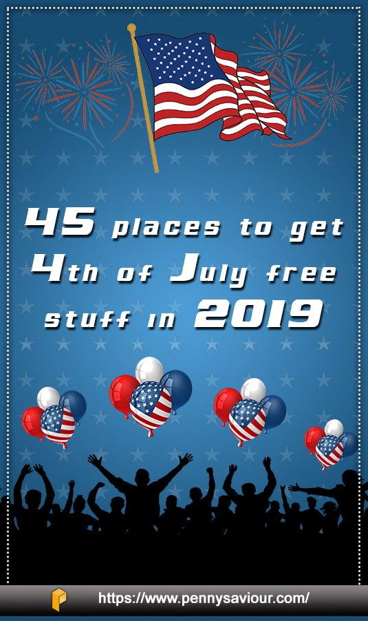 places to get free stuff on July 4 2019