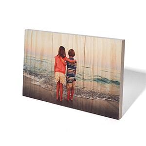 Planked Wood Print 6.75x10.5