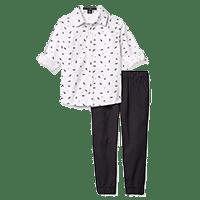 polo shirt and pant