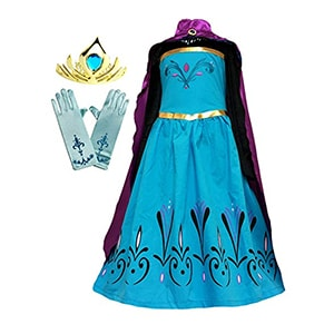Cokos Box Elsa Coronation Dress & Accessories