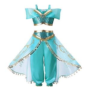 JiaDuo Princess Jasmine Costume