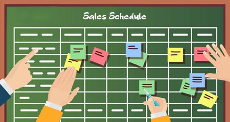 sales schedule