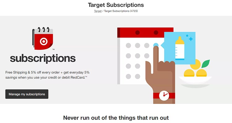 Set Target Subscription Deliveries