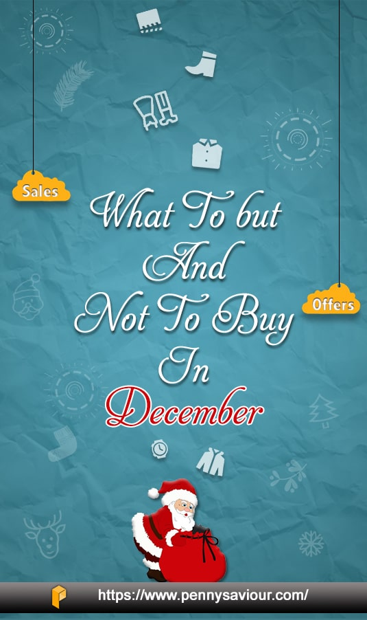 Shopping Guide For December Pinterest Image