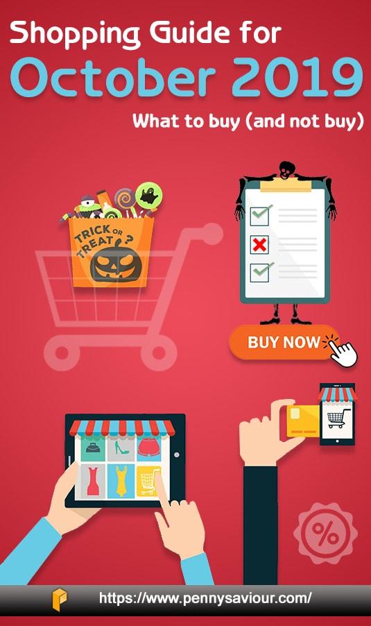shopping guide for october 2019