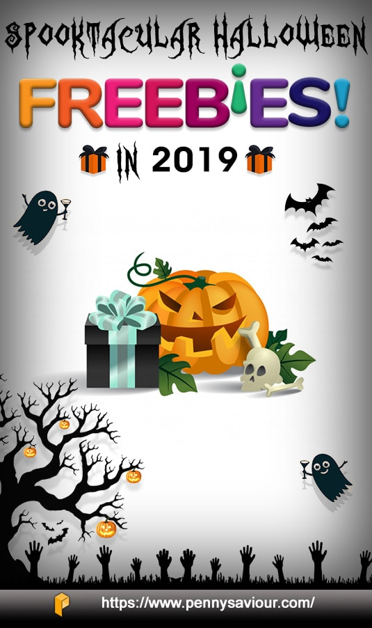 Spooktacular Treats & Halloween Freebies in 2019 Pinterest