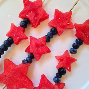 Star-shaped Watermelon