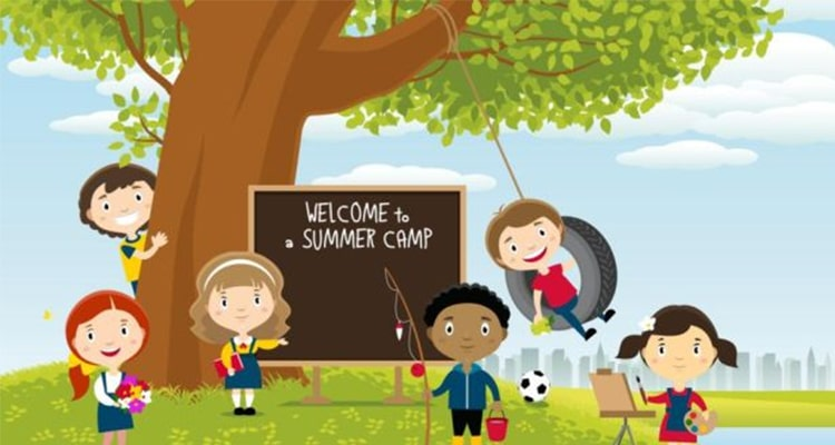 Make an early booking for summer camps in March