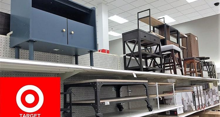target furniture store