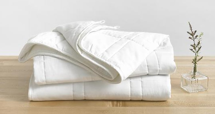 throw size weighted blanket