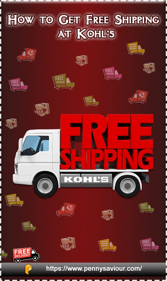 tips to get free shipping at Kohls