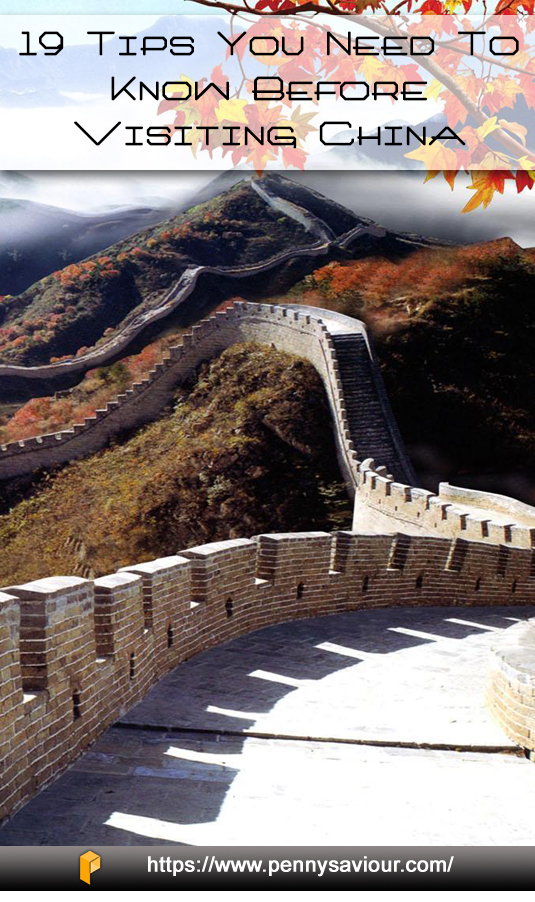 Tips You Need to Know Before Visiting China Pinterest