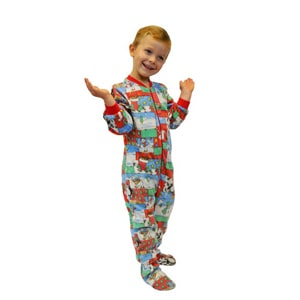Toddler Footie Pajamas