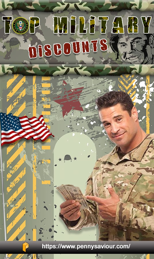 Top Military Discounts Pinterest