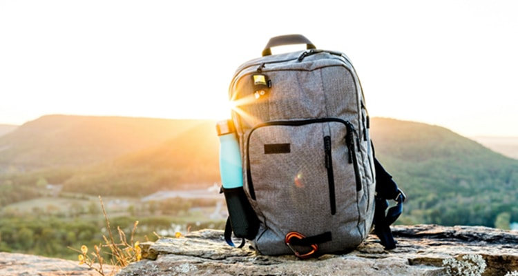 travel backpack to save small stuff