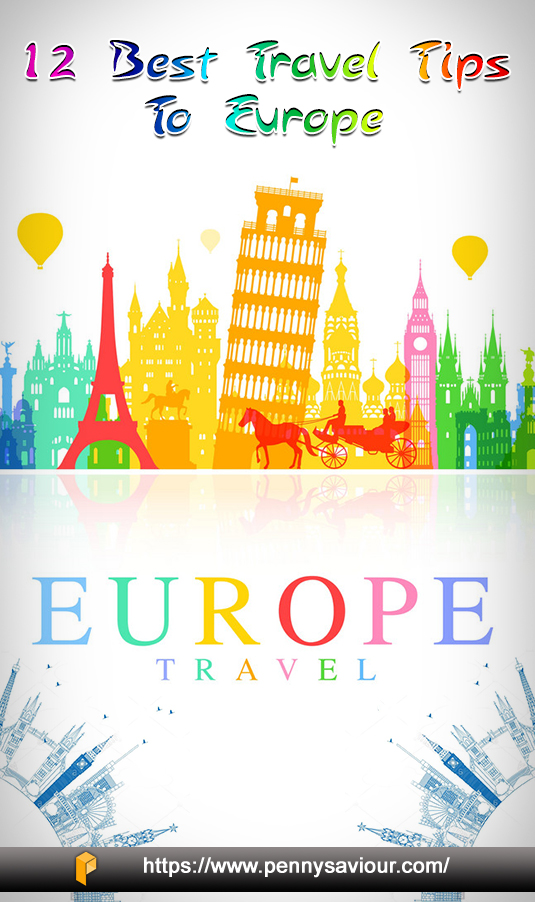 Traveling Tips to Europe Pinterest