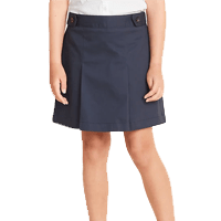 Uniform Twill Skirt for Girls