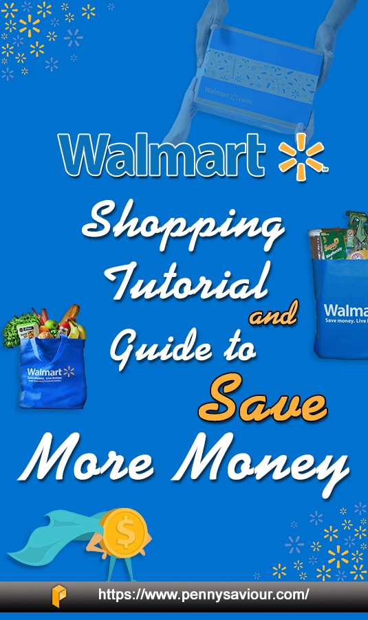 Walmart Shopping Tutorial And Guide Pinterest
