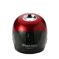 Westcott iPoint Ball Battery Sharpener, Red/Black